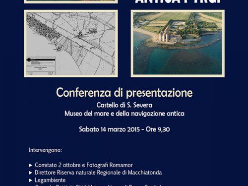 """Conferenza per l'istituzione del Monumento Naturale 'Antica Pyrgi"""" Sabato 14 marzo 2015"""