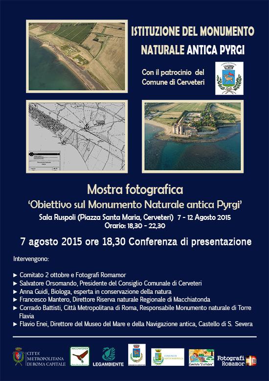presentazione monumento pyrgi Cerveteri picc