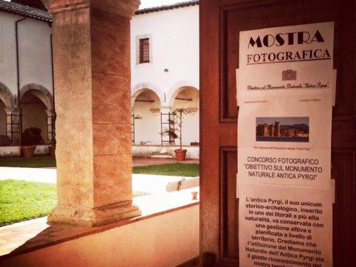La mostra 'Obiettivo sul Monumento Naturale Antica Pyrgi' è ora esposta presso il Museo Civico di Tolfa