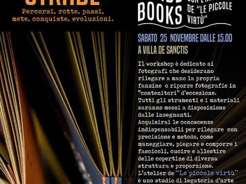 Workshop di legatoria artigianale de Le Piccole Virtù