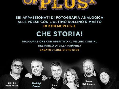 """Mostra """"My last roll of Kodak plusX"""" al Villino Corsini sabato 7 luglio 2018"""