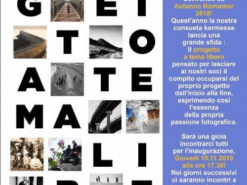 Inaugurazione Autunno Romamor 2018 Giovedì 15 novembre